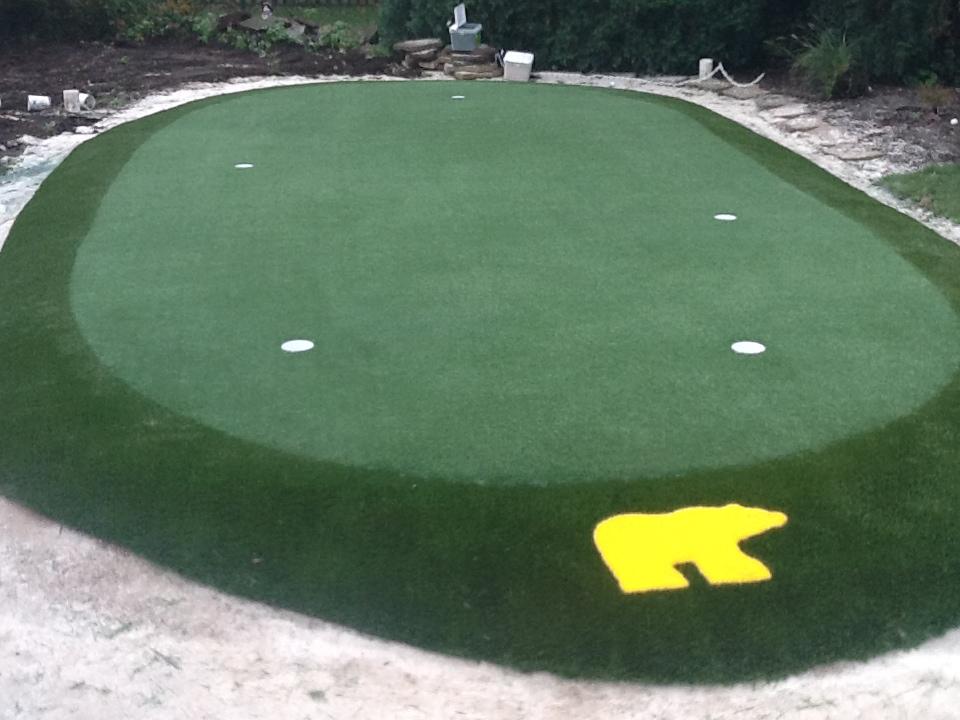 Indiana Putting Greens Installation Design